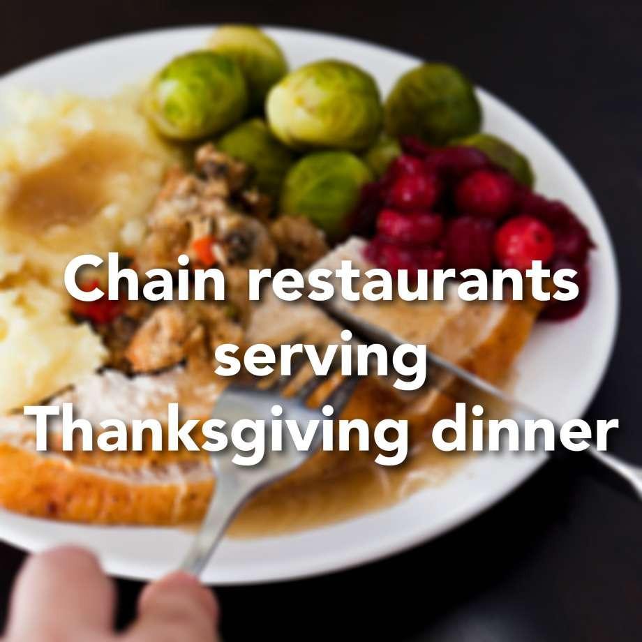 Restaurants Serving Thanksgiving Dinner 2019  Chain restaurants that will serve Thanksgiving dinner