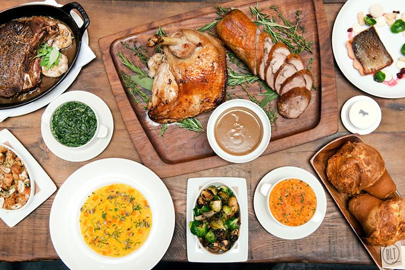 Restaurants Serving Thanksgiving Dinner 2019  Let Someone Else Cook This Thanksgiving 2016 Biting