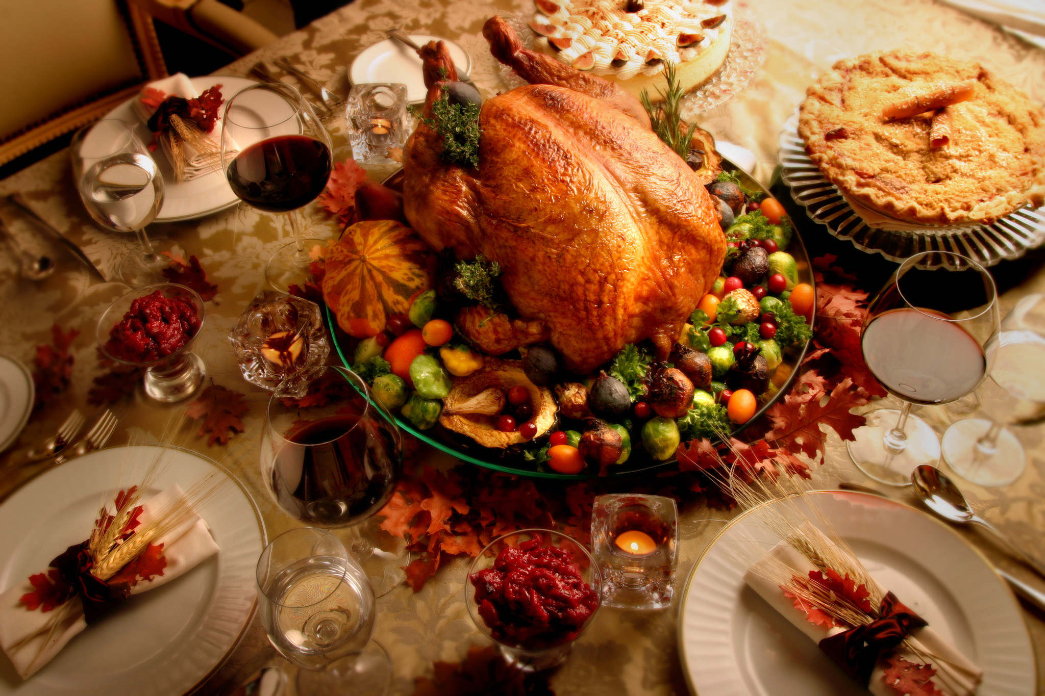 Restaurants Serving Thanksgiving Dinner  Thanksgiving in Los Angeles Food events volunteering