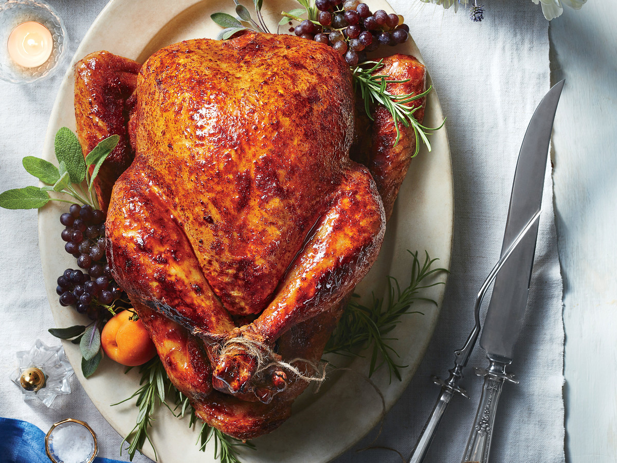 Roast Turkey Recipes Thanksgiving  Sweet and Spicy Roast Turkey Recipe Southern Living