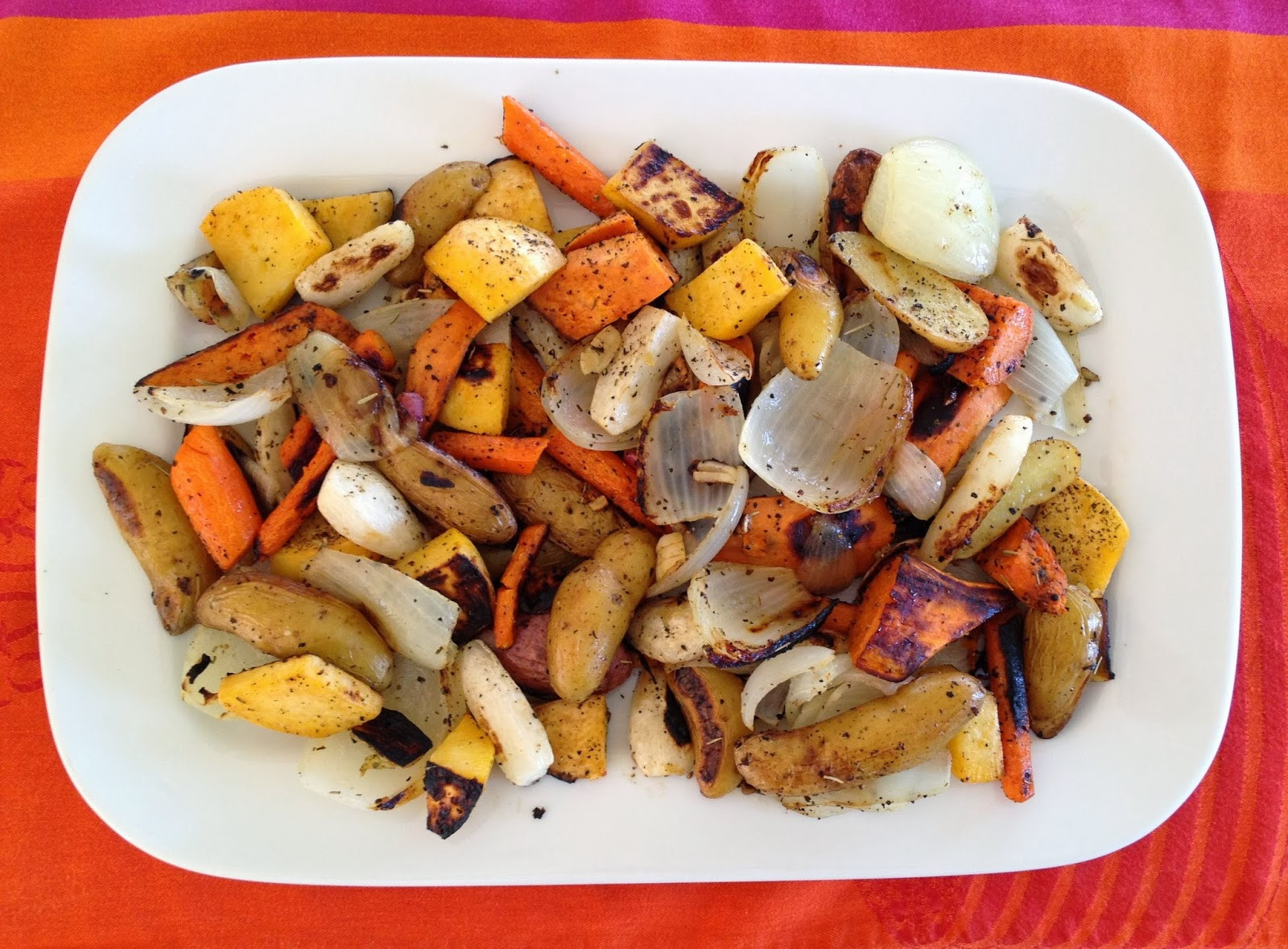 Roasted Fall Root Vegetables  Super Easy Roasted Fall Root Ve ables