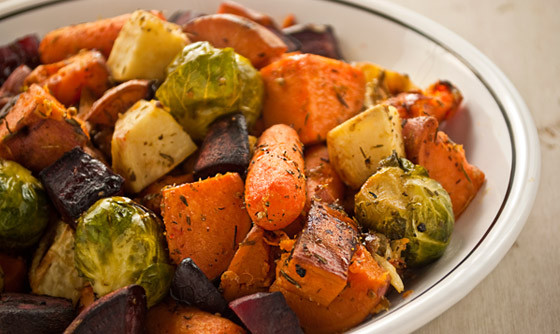 Roasted Fall Root Vegetables  Roasted Root Ve ables The Vegan Road