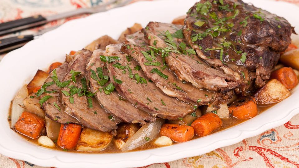 Roasted Fall Vegetables Best Recipes Ever  Pot Roast with Winter Root Ve ables Recipes Best