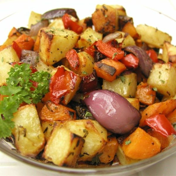 Roasted Fall Vegetables Best Recipes Ever  1664 best Side Dish Recipes images on Pinterest