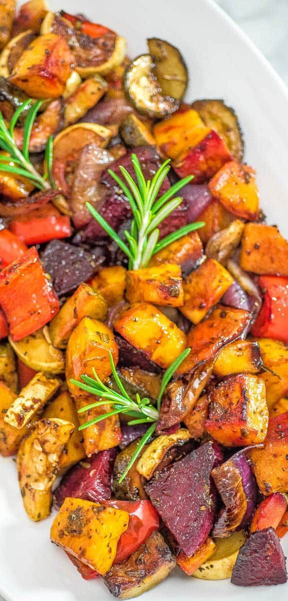 Roasted Fall Vegetables Best Recipes Ever  Oven roasted ve ables Recipe