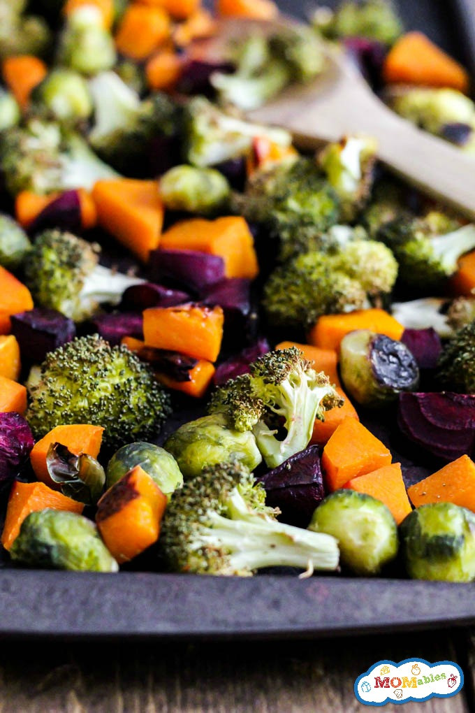 Roasted Fall Vegetables  e Pan Roasted Fall Ve ables MOMables Good Food