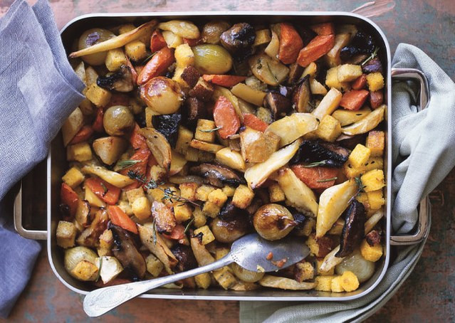 Roasted Fall Vegetables  How to Buy Store and Cook Parsnips in Season in