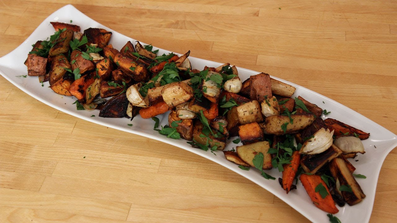 Roasted Fall Vegetables Recipe  Roasted Winter Root Ve ables Recipe by Laura Vitale