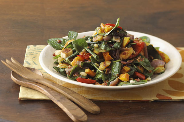 Roasted Fall Vegetables Recipe  Roasted Fall Ve able Salad Recipe Kraft Recipes