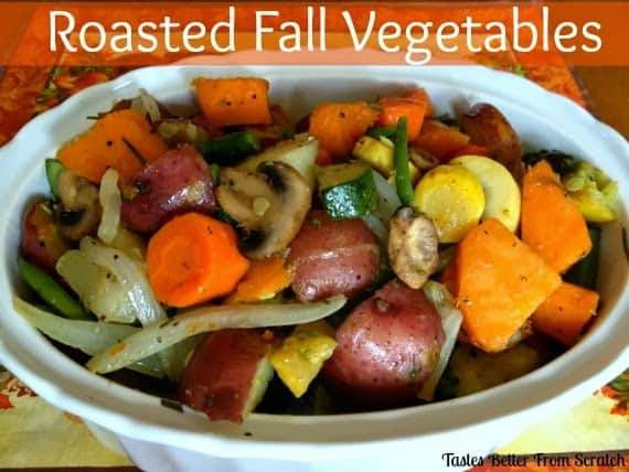 Roasted Fall Vegetables Recipe  Roasted Fall Ve ables