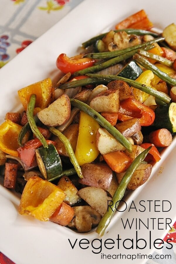 Roasted Fall Vegetables Recipe  Roasted Winter Ve ables I Heart Nap Time