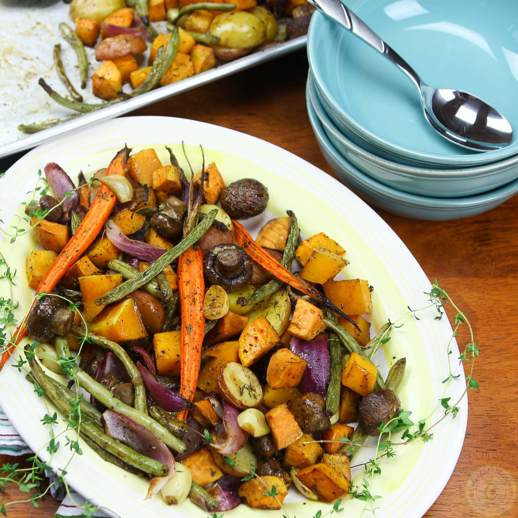 Roasted Fall Vegetables Recipe  Roasted Fall Ve ables Colorful Recipes