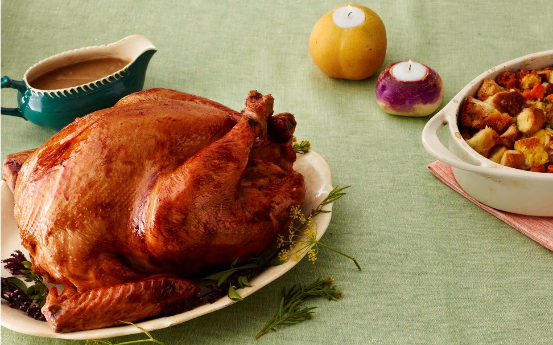Roasted Thanksgiving Turkey  Brined Roasted Thanksgiving Turkey