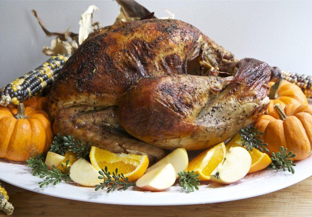 Roasted Turkey Recipes Thanksgiving  Easy & Juicy Whole Roasted Turkey Recipe Brined
