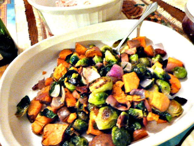 Roasted Vegetables For Thanksgiving  Baking and Cooking A Tale of Two Loves Roasted