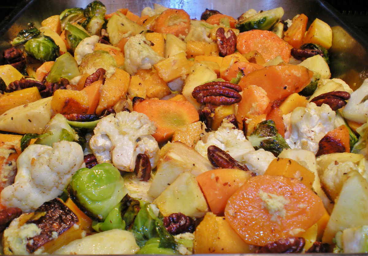 Roasted Vegetables For Thanksgiving  Thanksgiving 2013 Green Beans and Roasted Ve ables