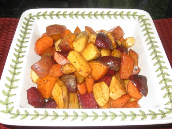 Roasted Vegetables For Thanksgiving  Roasted Root Ve ables…Perfect For Thanksgiving