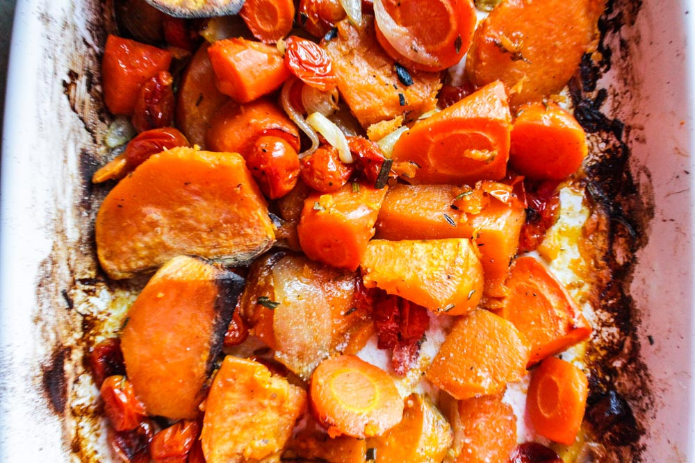 Roasted Vegetables Thanksgiving  Lisa G Cooks Simple Recipes Healthy Lifestyle