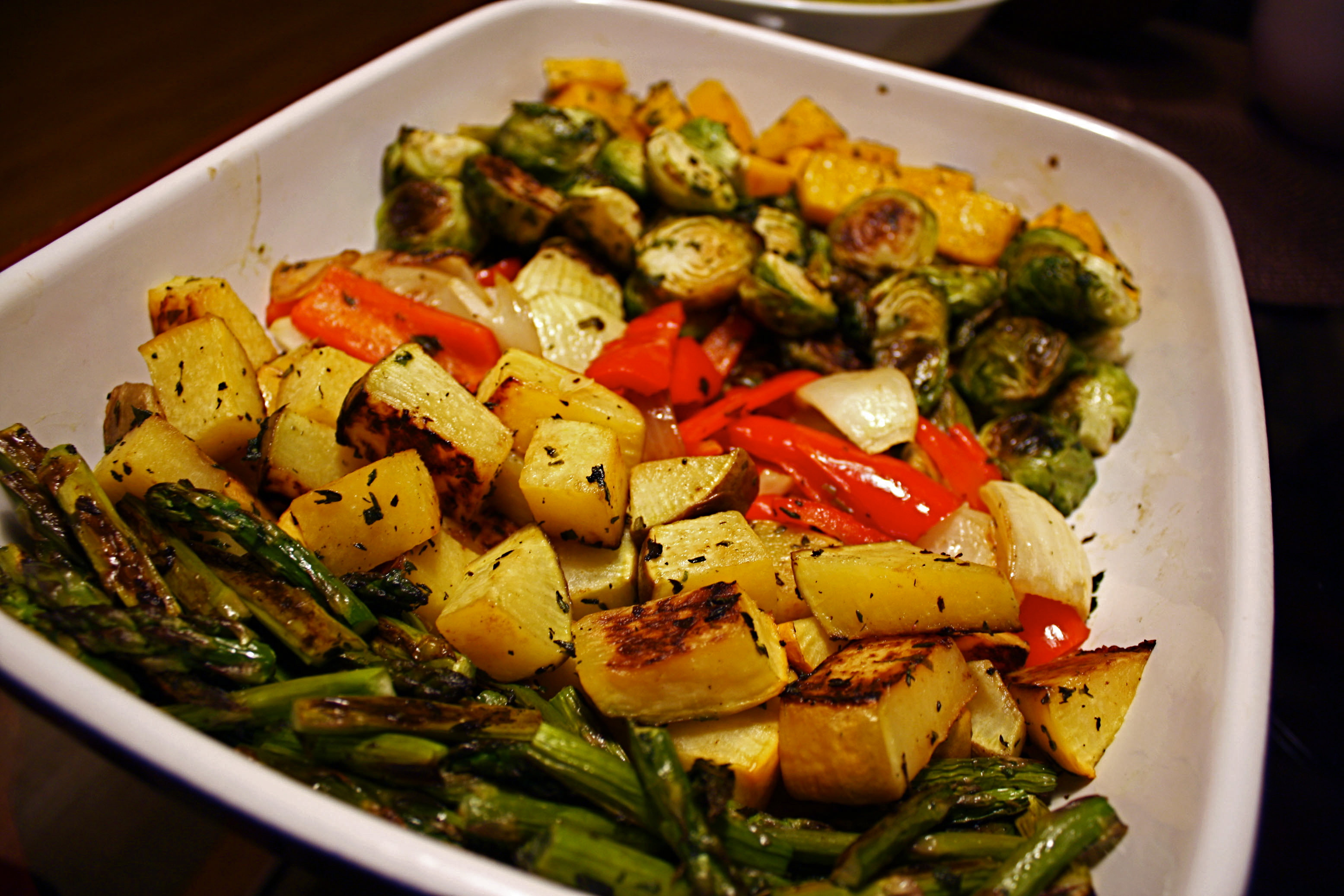 Roasted Vegetables Thanksgiving Recipe  301 Moved Permanently