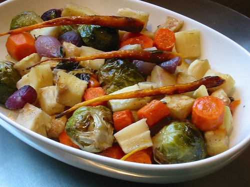 Roasted Vegetables Thanksgiving Recipe  How to create the perfect ve arian Thanksgiving menu