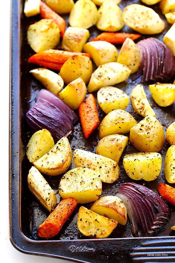 Roasted Vegetables Thanksgiving Recipe  Roasted Root Ve ables