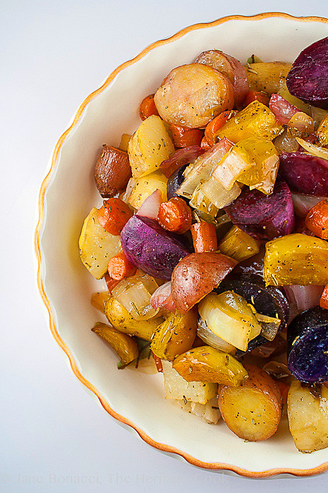 Roasted Vegetables Thanksgiving  Favorite Thanksgiving Side Maple Roasted Root