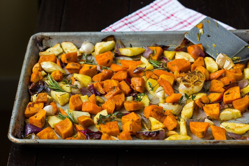 Roasted Vegetables Thanksgiving  roasted ve ables thanksgiving