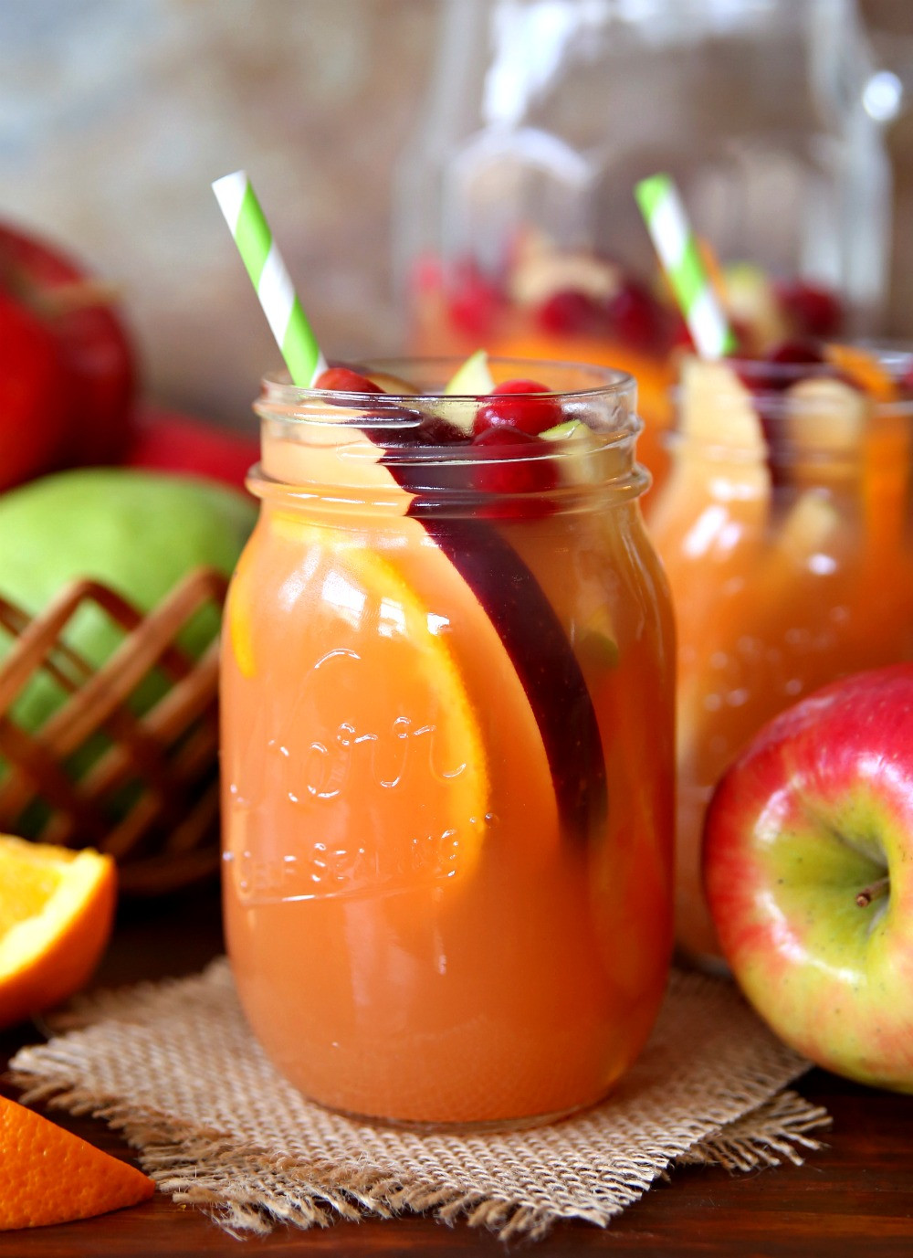 Rum Drinks For Fall  Autumn Harvest Rum Punch The Best Fall Rum Punch