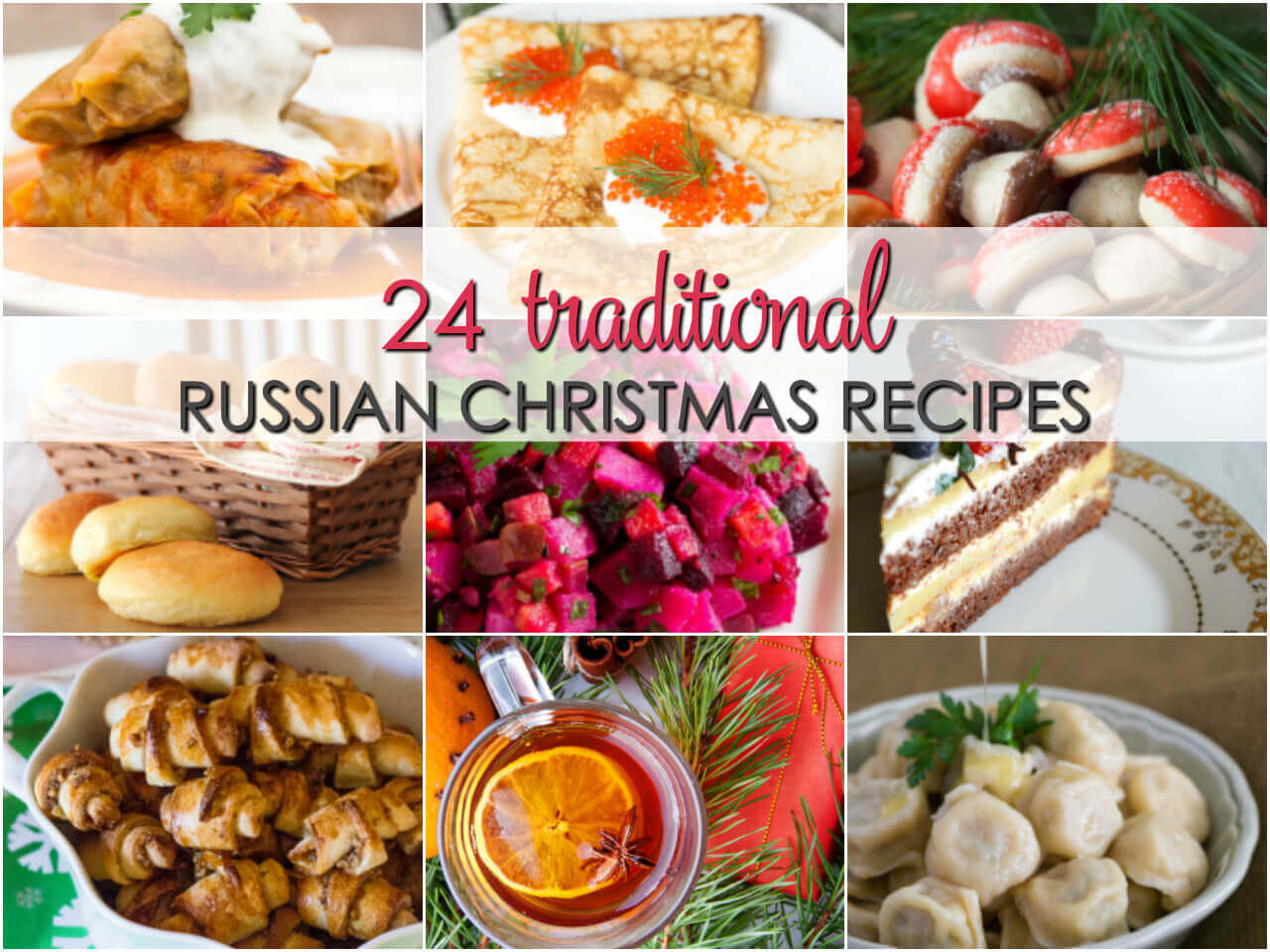 Russian Christmas Desserts  Russian Recipes for Christmas
