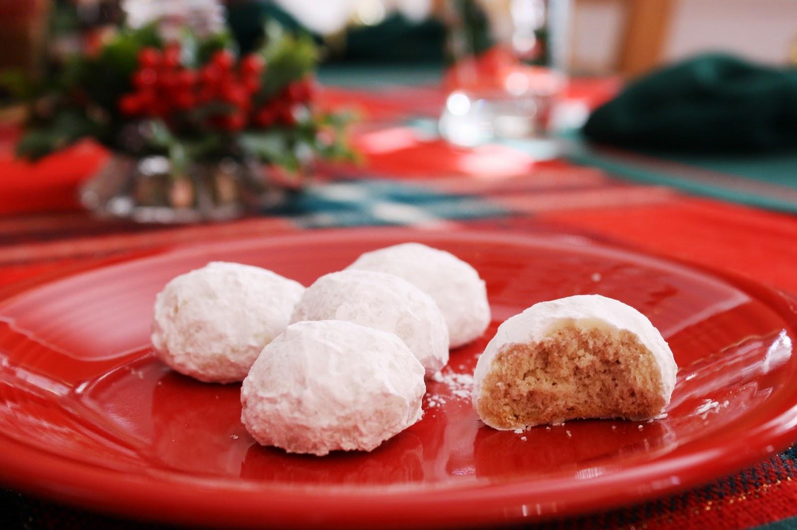 Russian Christmas Desserts  Russian Tea Cakes Saving Room for Dessert