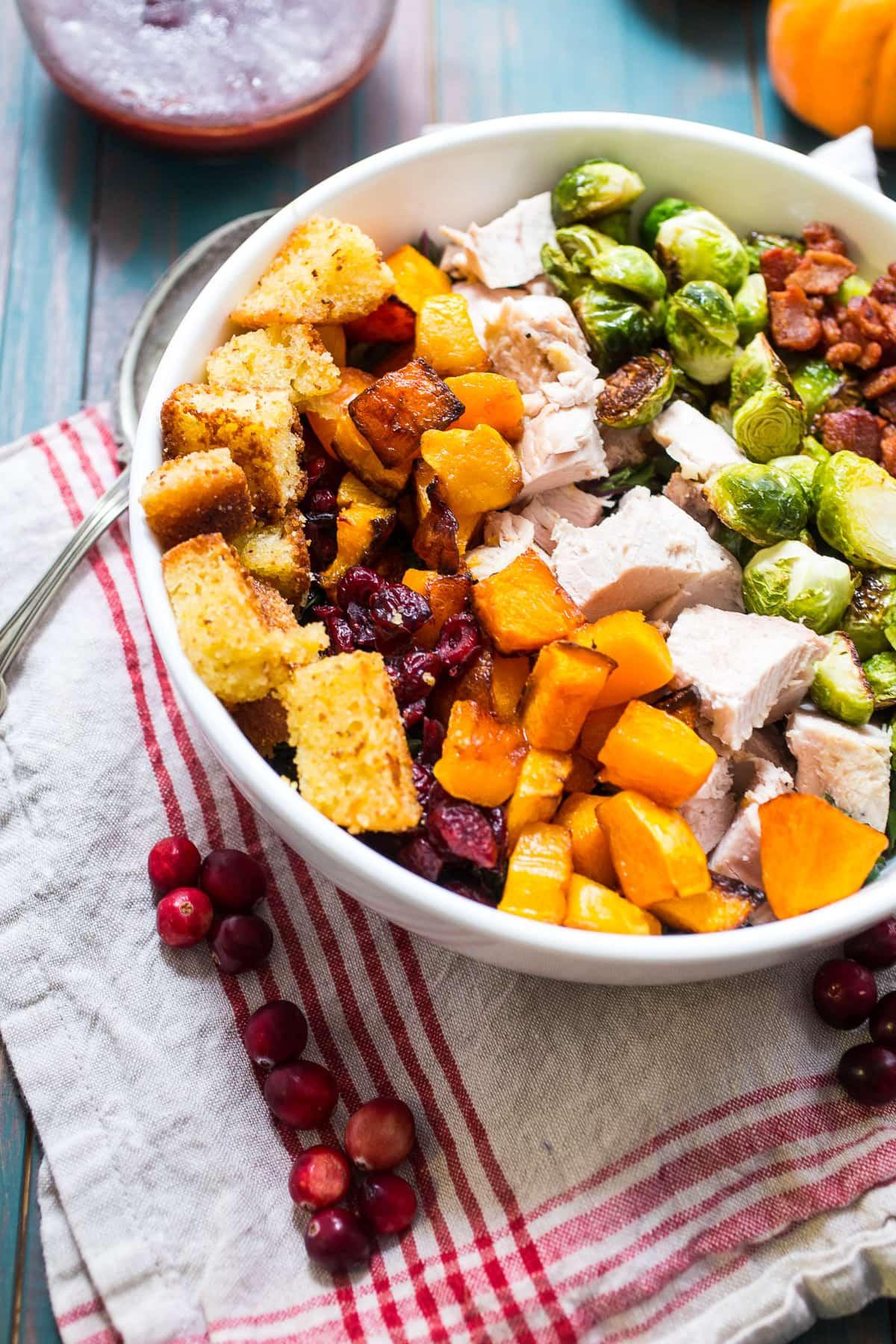Salad For Thanksgiving Dinner  Thanksgiving Cobb Salad