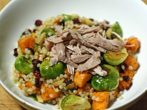 Salad For Thanksgiving Dinner  Dinner Tonight Thanksgiving Salad with Sweet Potatoes and