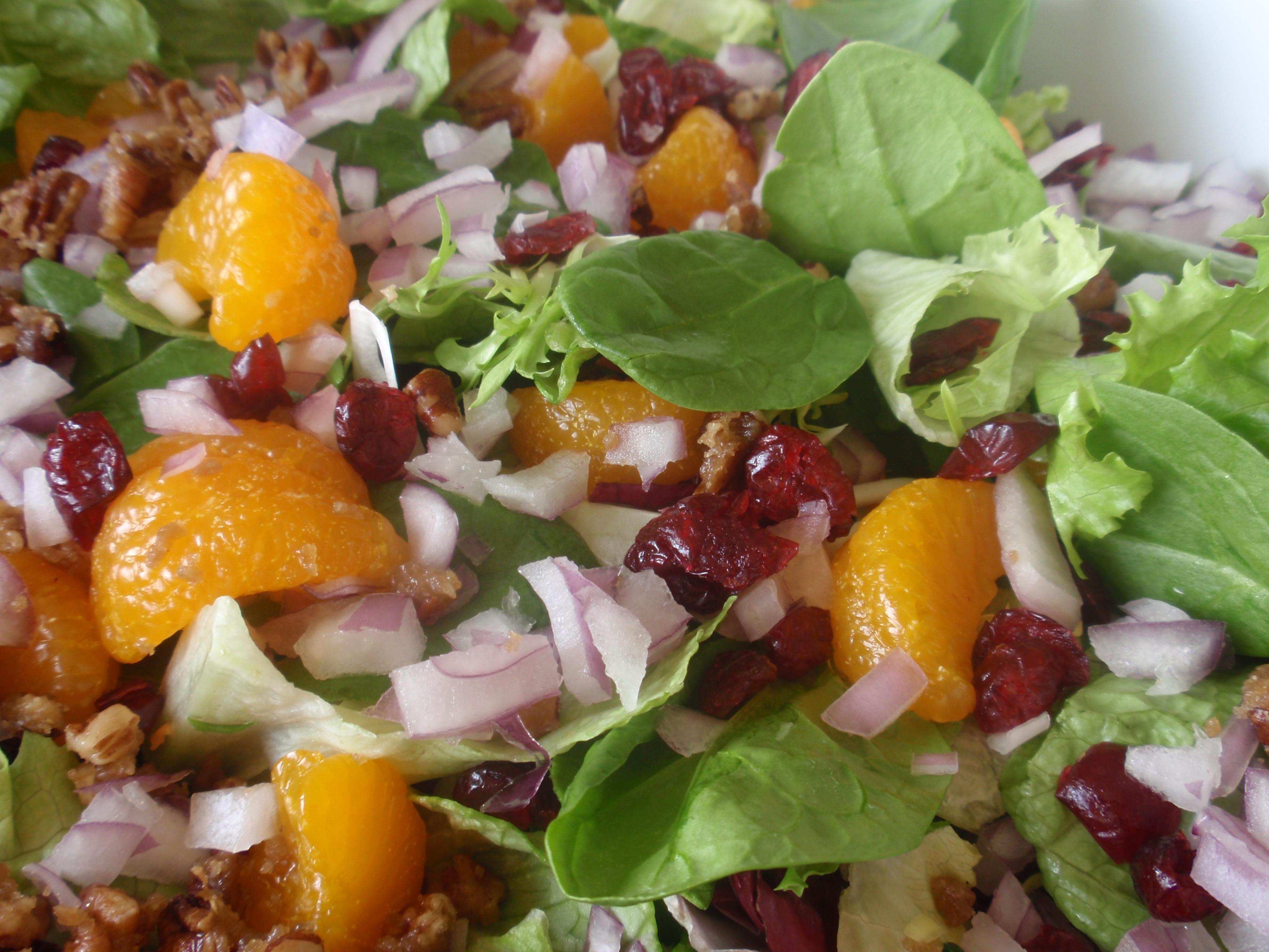 Salad For Thanksgiving Dinner  Thanksgiving Salad