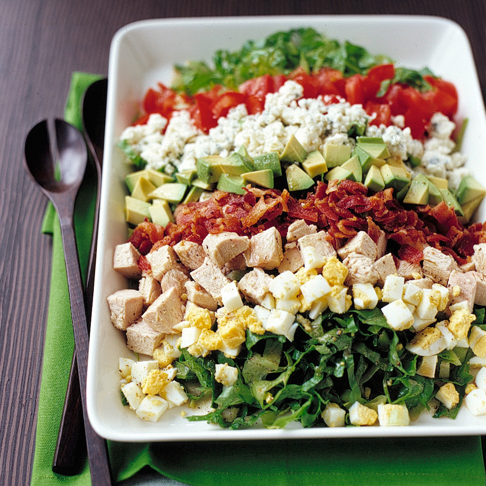 Salads For Thanksgiving  Turkey Cobb Salad