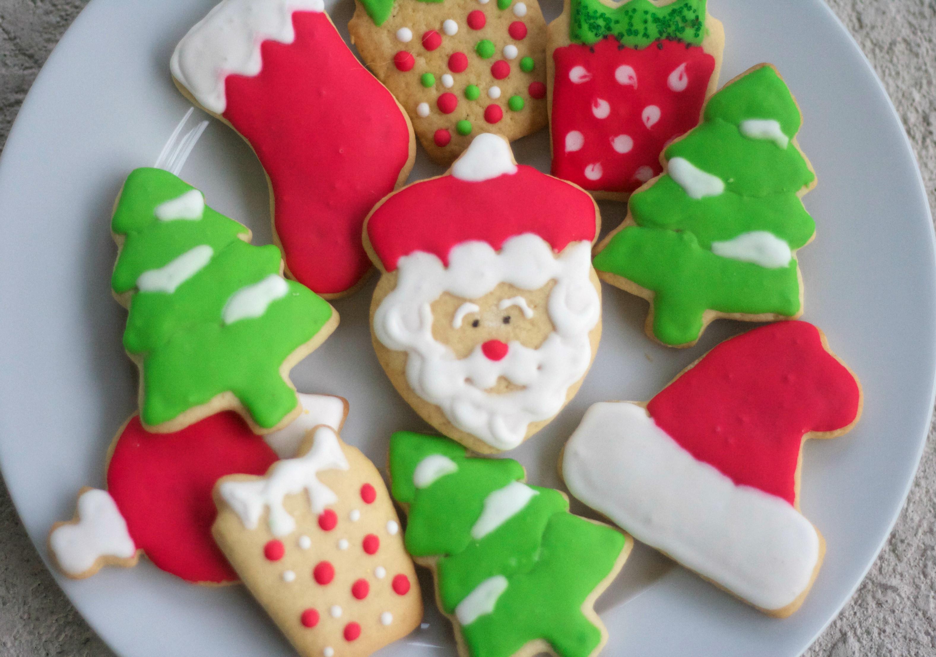 Santa Christmas Cookies  Love Languages and Christmas Cookies