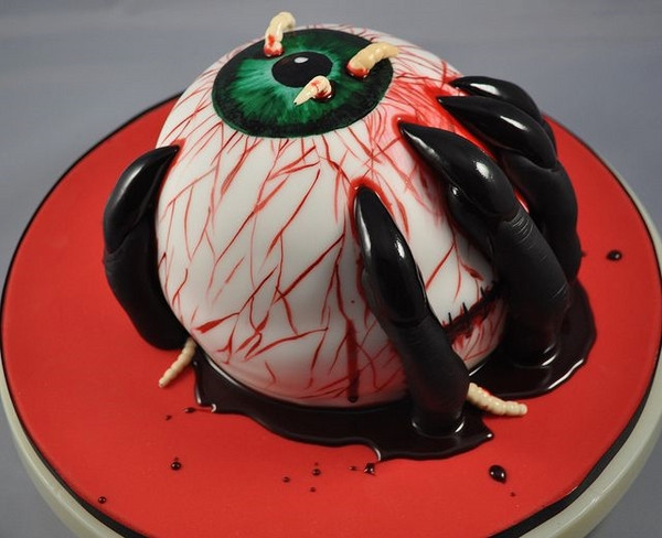 Scarey Halloween Cakes  Scary Halloween cakes 25 ideas how to add some creepy