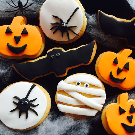 Scary Halloween Cookies  Spooky Themed Halloween Cookies Recipes