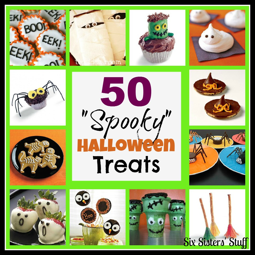 "Scary Halloween Cookies  50 ""spooky"" Halloween Treats"