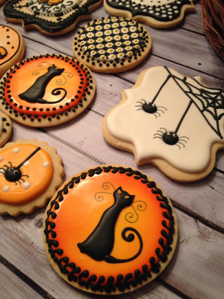 Scary Halloween Cookies  Halloween Sugar Cookies Party XYZ