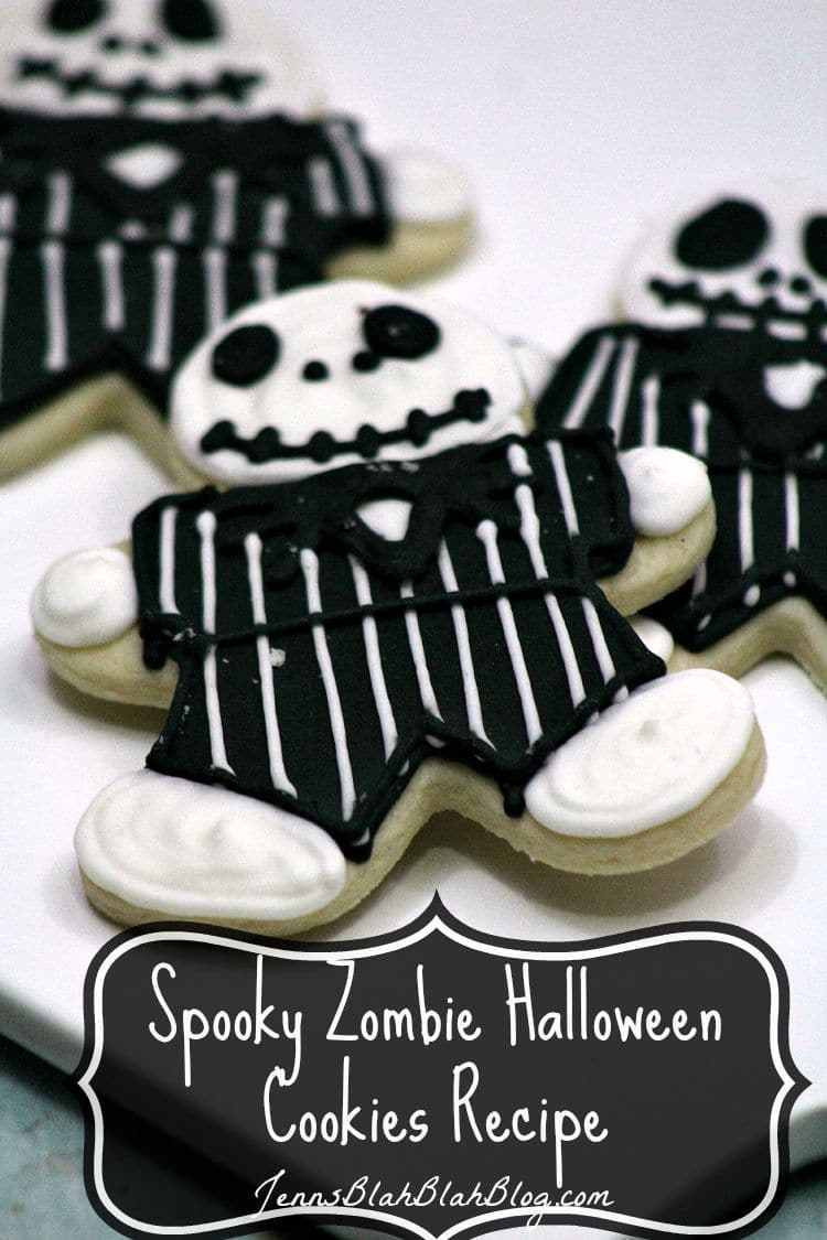 Scary Halloween Cookies  Spooky Zombie Halloween Cookie Recipe