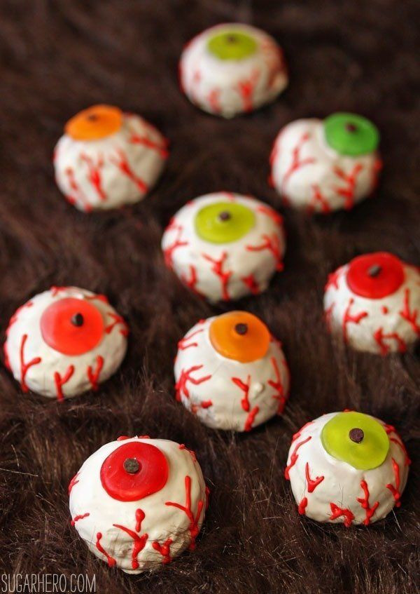 Scary Halloween Dessert  The Creepiest Scariest Dessert Recipes Your Halloween