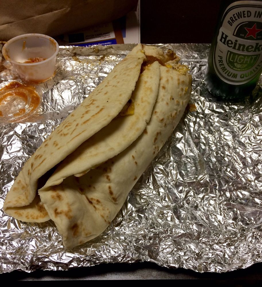Sevi'S Burritos Wichita Falls  Huge burrito the burrito sweats Yelp