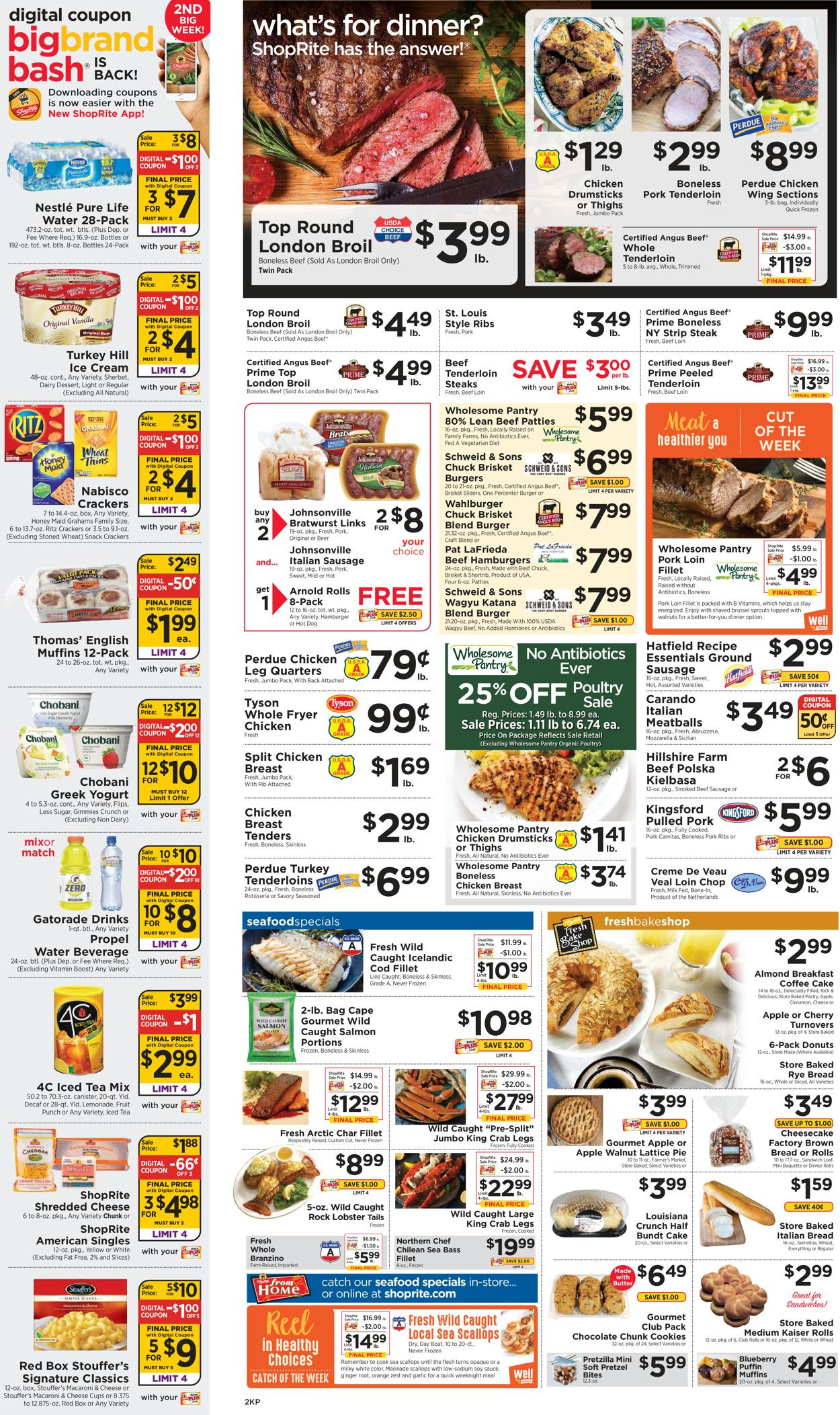 Shoprite Thanksgiving Dinner 2019  ShopRite Current weekly ad 06 09 06 15 2019 [2] weekly