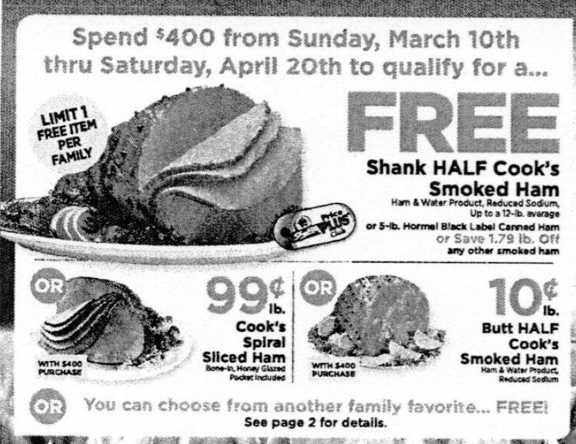 Shoprite Thanksgiving Dinner 2019  ShopRite Holiday Dinner Promo – Earn a FREE Turkey Ham
