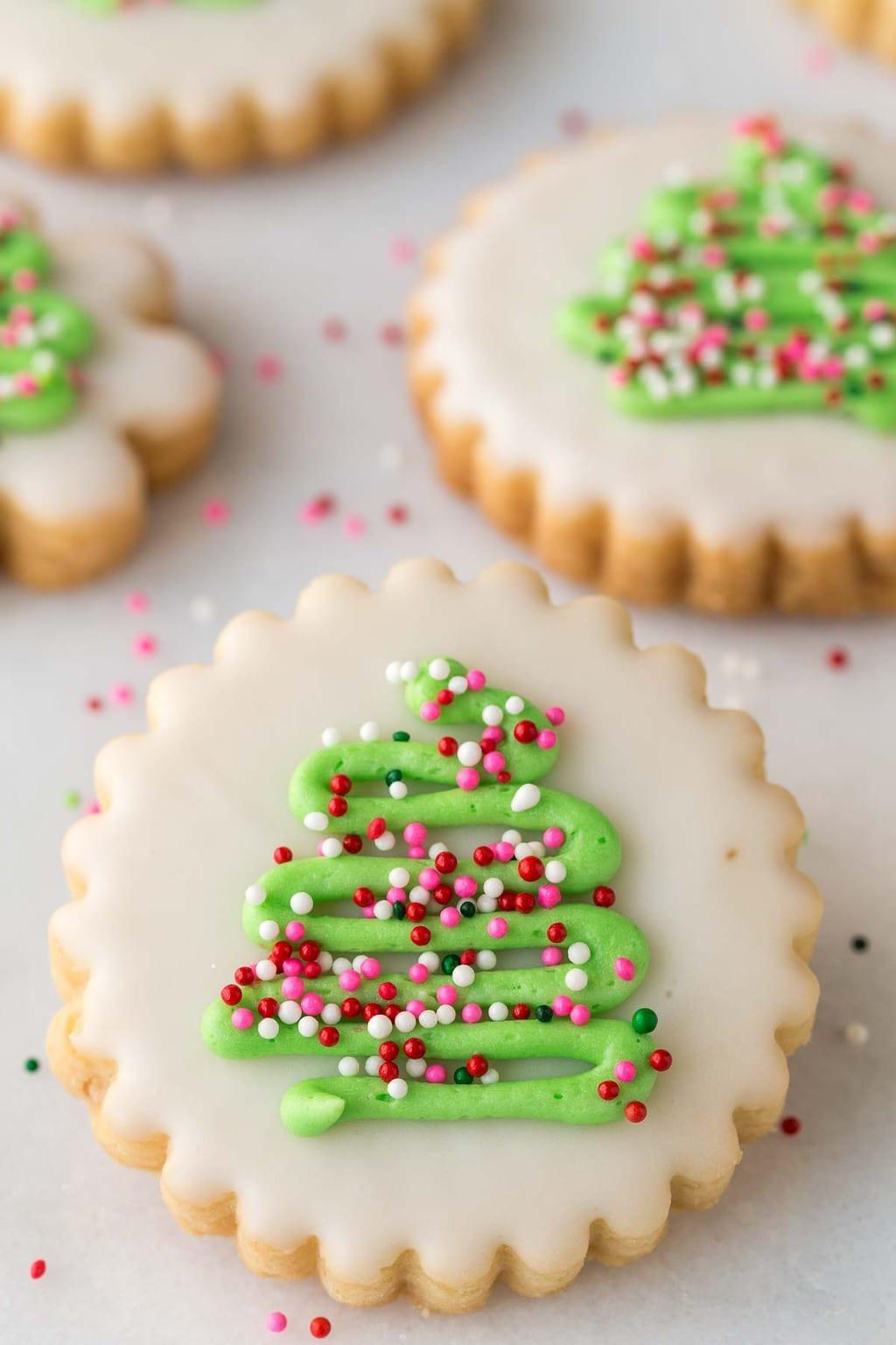 Shortbread Cookies Christmas  Christmas Shortbread Cookies