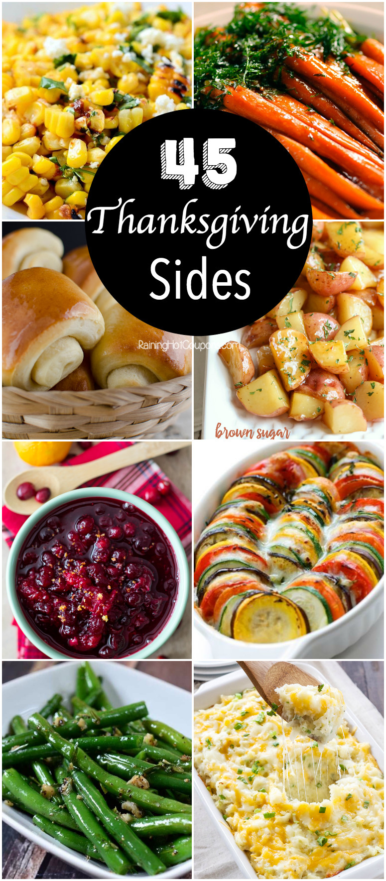 Side Dish Thanksgiving Dishes  45 Thanksgiving Side Dishes