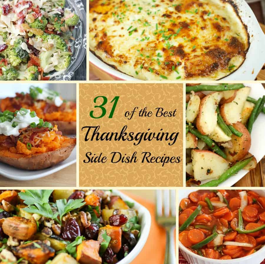 Side Dish Thanksgiving Dishes  Best Thanksgiving Side Dish Recipes