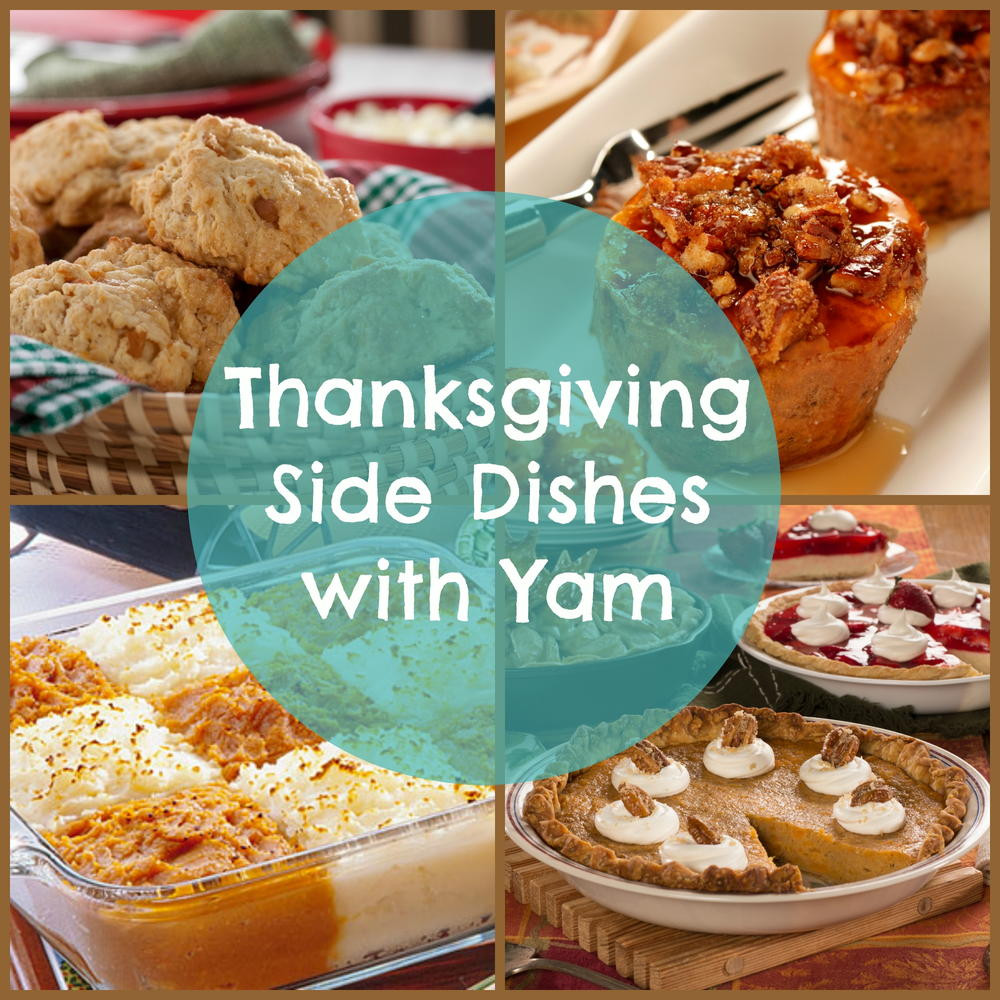 Side Dish Thanksgiving Dishes  14 Thanksgiving Side Dishes with Yam