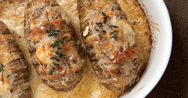 Side Dishes For Prime Rib Dinner Christmas  This recipe for Scalloped Hasselback Potatoes is the