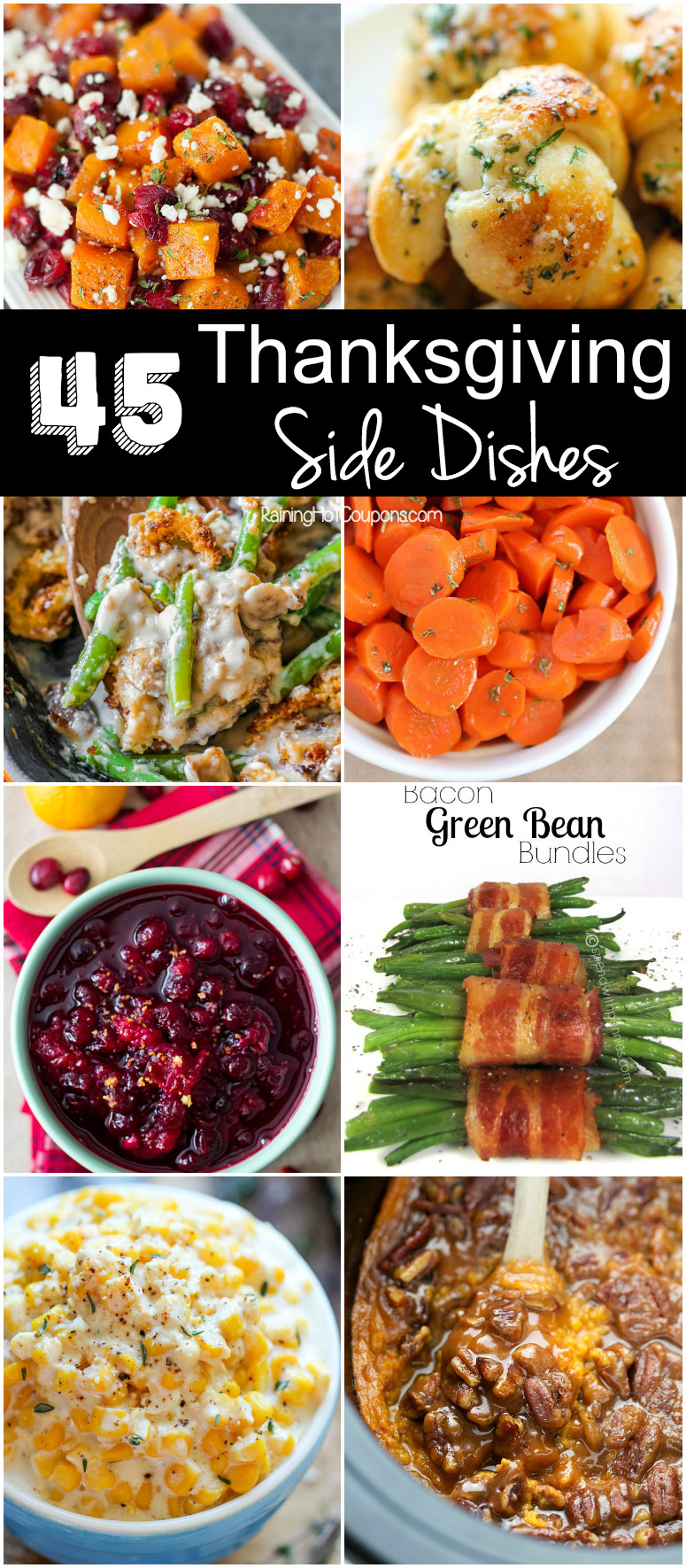 Side Dishes For Thanksgiving  45 Thanksgiving Side Dishes